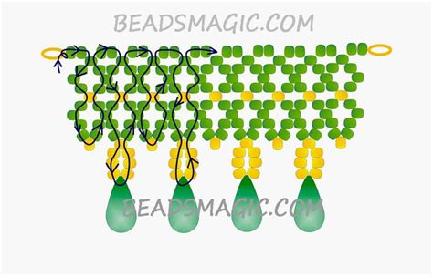 pattern magic drop hole 345 best images about beadmagic com on pinterest beaded