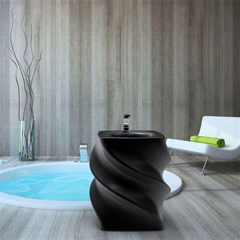 lavabo moderno lavabo nero freestanding design moderno twist made in italy