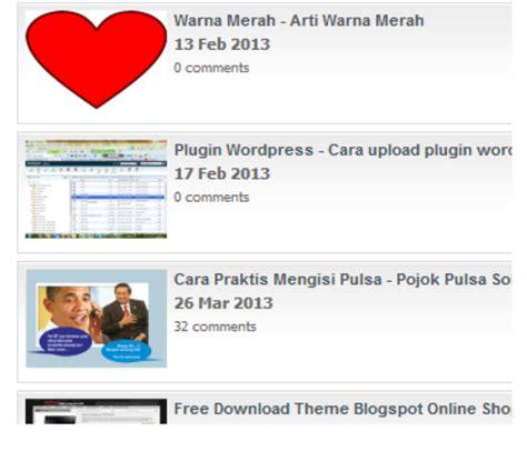 cara membuat slide di blog wordpress cara membuat slide show recent post blog wordpress ilma ilmu