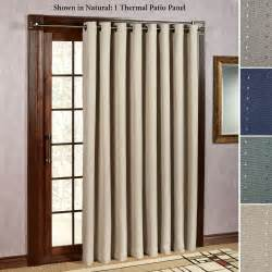 Grommet curtains for sliding glass doors thermalogictm energy