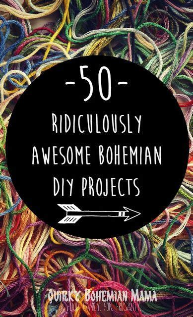 Diy Boho Home Decor by 1000 Ideas About Bohemian Crafts On Pinterest Bohemian