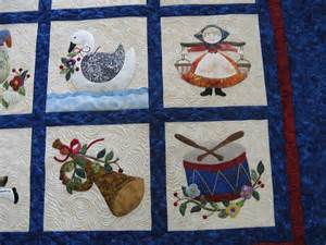 12 days of applique quilt pictures patterns