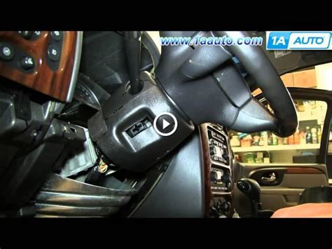 how can i replace the ignition switch in a jeep wrangler s 1993 i know is the steering column how to install replace ignition switch 2002 09 gmc envoy chevy trailblazer