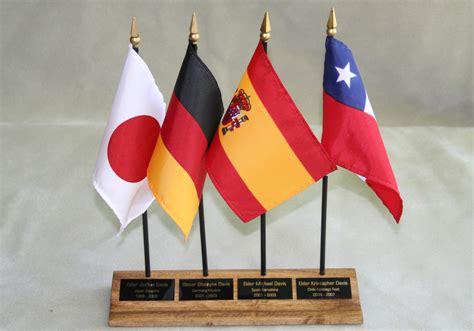 desk flag stand desk plaques flag stands