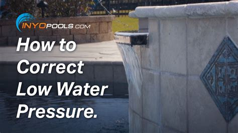 low water pressure in what could cause low water pressure proquestyamaha web