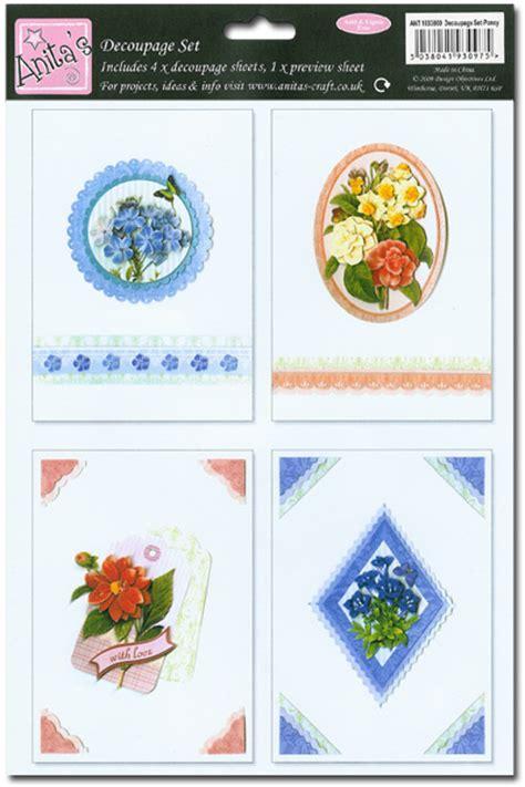 decoupage set 3d decoupage set flower floral theme 4 sheets 163 1 99