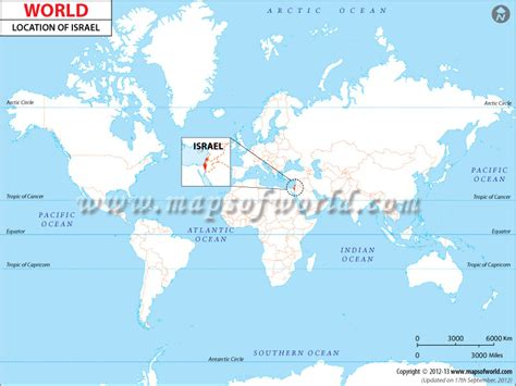 jerusalem in world map where is israel location of israel