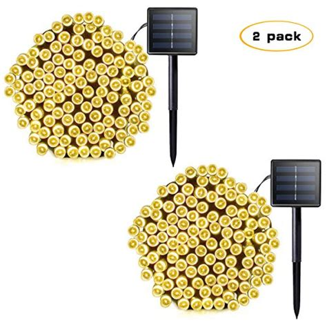 lalapao 2 pack solar string lights 72ft 22m 200 led 8 modes solar powered xmas outdoor lights waterproof starry christmas fairy lalapao 2 pack solar string lights 72ft 22m 200 led 8 import it all