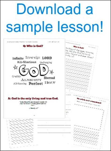 catechism lesson plan template sound words theology catechism curriculum