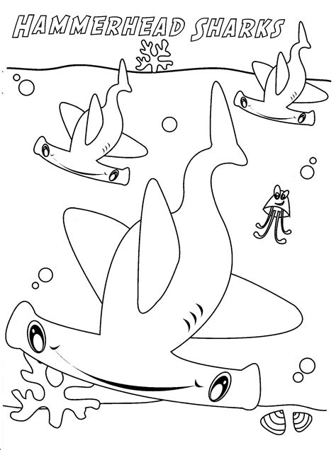 cool coloring pages of sharks unique shark coloring pages free 32 5977