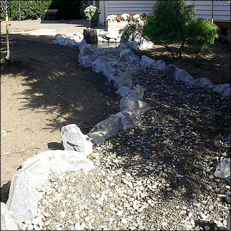Landscape Edging To Divert Water Divert Water Runoff Images