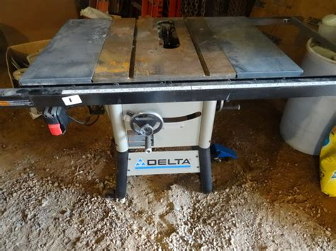 Delta 36 725 Table Saw by Delta Table Saw 36 725 10 Quot Works K Auctions