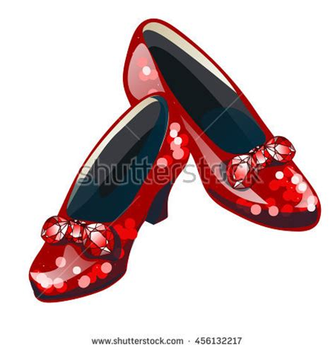 ruby slippers clipart ruby slippers stock vectors vector clip