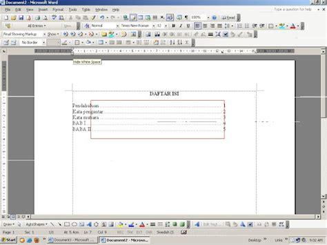Jasa Pengetikan Laporan tips komputer cara setting tabs