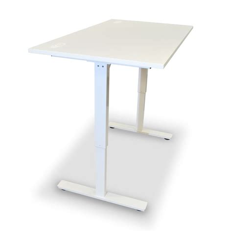 sit stand desk frame altitude sit stand desk single white frame height