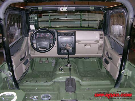tactical jeep interior diesel jeep t1 road com