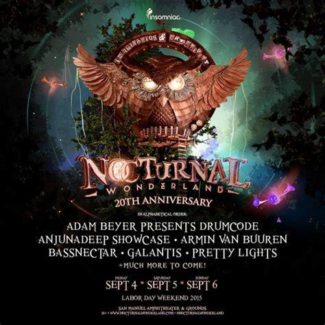 Nocturnal Wonderland Ticket Giveaway - festival nocturnal wonderland san bernadino calif tickets and lineup on sep 2