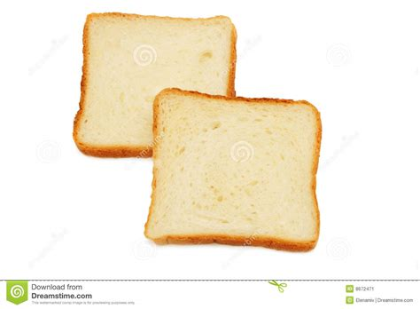 Glass Toaster Two Slices Of Bread Stock Image Image 8672471