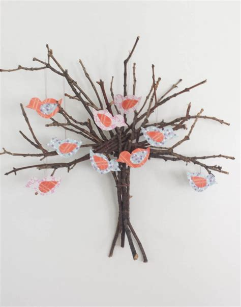 twig tree home decorating twig tree wall decor diy