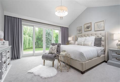 ideas for master bedrooms traditional master bedroom with chandelier carpet