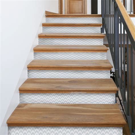 Peel and Stick Stair Riser Decals ? Mirth Studio