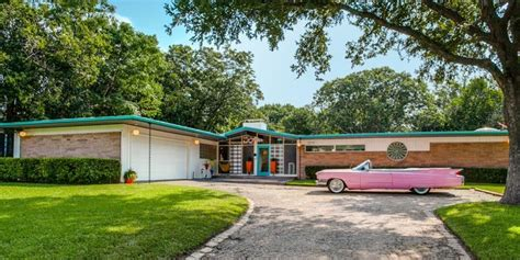 1950s homes 1950s time capsule home retro dallas home for sale