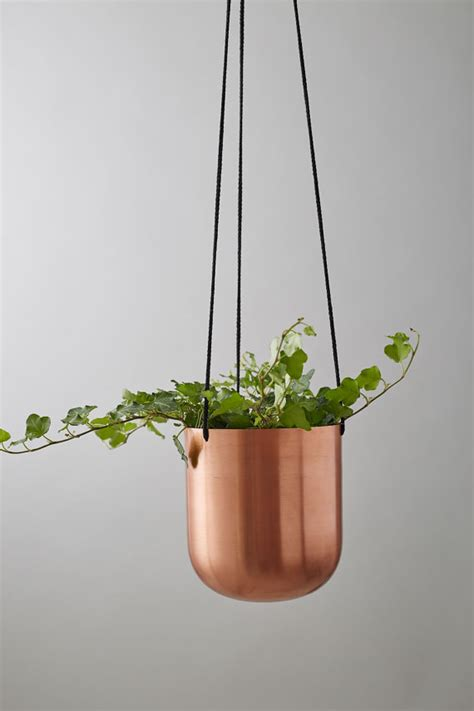 Potted Plant Hangers - items similar to copper plant hanger with on etsy