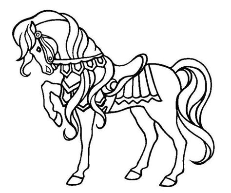 Horse Coloring Pages Coloringpagesabc Com Coloring Pages Horses