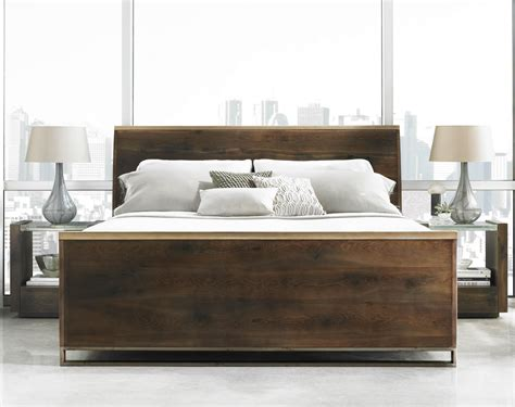 schnadig bedroom furniture modern artisan ats dark fumed oak finish by schnadig