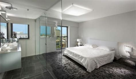 shower in bedroom bedroom and bathroom 2 in 1 suites clever combos or
