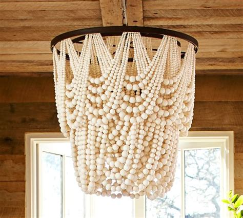 Pottery Barn Vases by Amelia Wood Bead Chandelier Pottery Barn