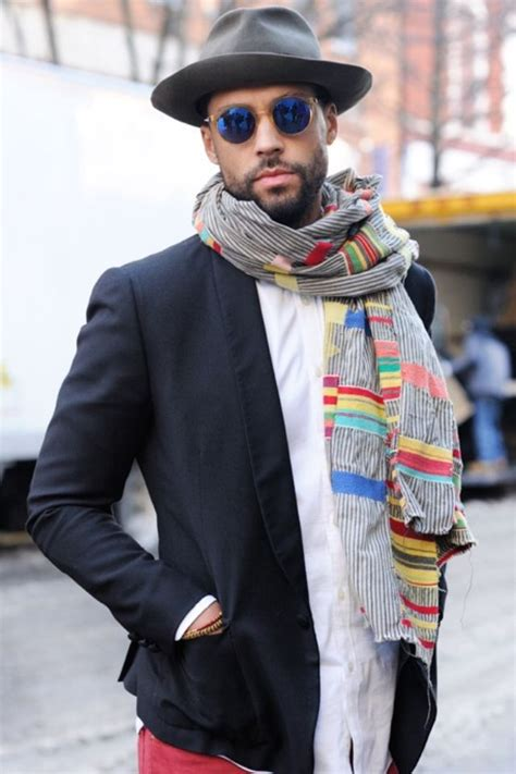 554 best mens scarves images on fashion