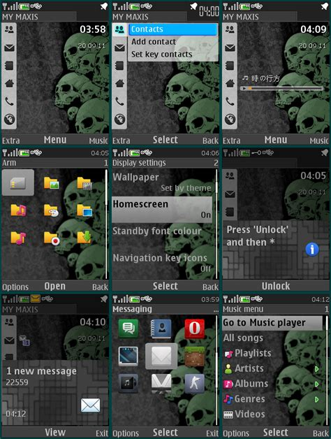 Nokia 5130 Horror Themes | nokia 5130 xpress music themes new calendar template site