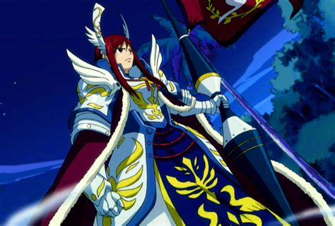 Farewell Fairy Tail Armor - Fairy Tail Wiki, the site for ... Erza Scarlet Armor Types