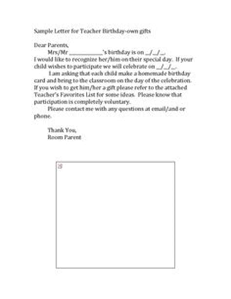 Gift Return Letter Templates Letters Parents Sle Letters Gift Donation Dear Parent As An
