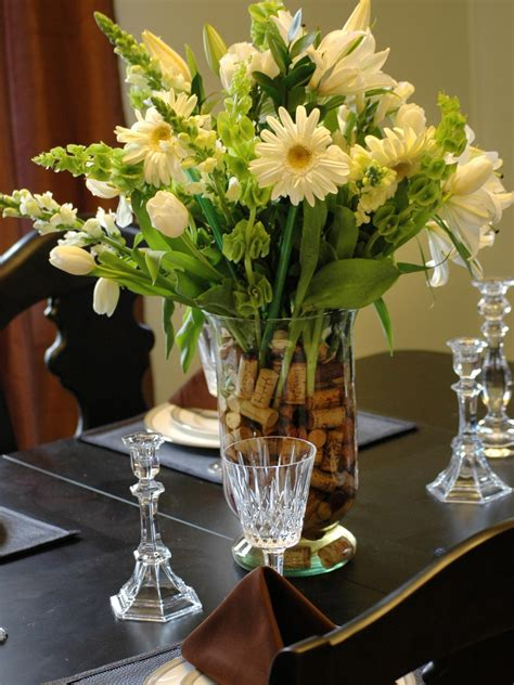 Dining Table Flower Arrangement Photos Hgtv