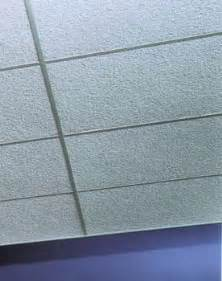painted nubby fiberglass soundproofing ceiling tiles
