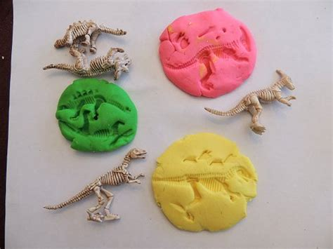 fossil crafts for create your own dinosaur fossils dinosaur