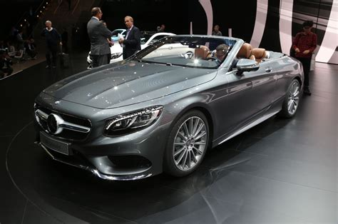 Mercedes Coupe Convertible Mercedes S Class Cabriolet Interior Revealed