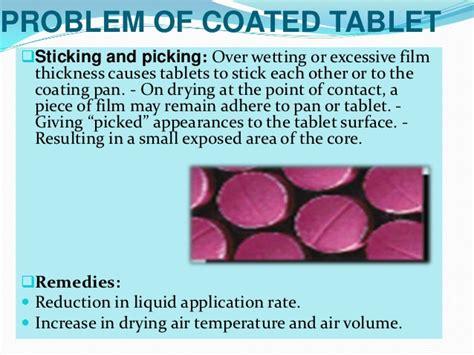 pattern air pressure tablet coating presentation for tablet coating