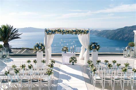 Le Ciel Santorini Wedding Venue   Santorini Wedding Venues