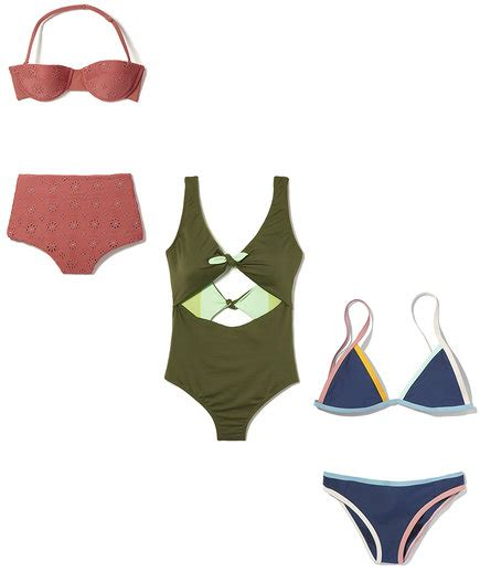 the best swimsuits for all body types real simple the best swimsuits for all body types real simple