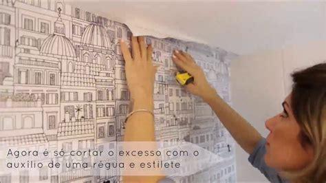 azulejo no banheiro aplicando papel de parede sobre azulejos no banheiro