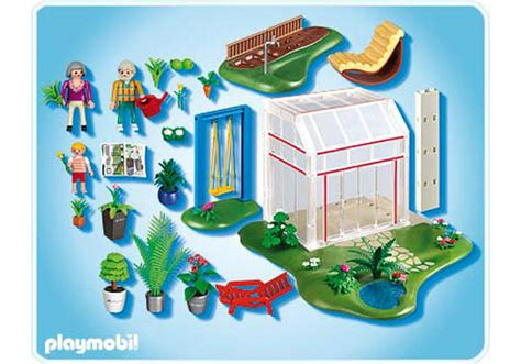 Playmobil Wintergarten