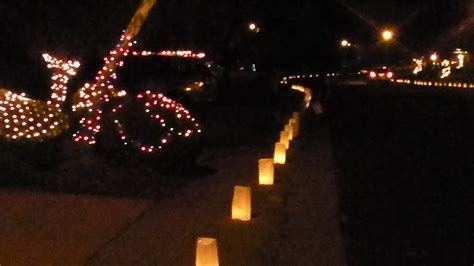 it s christmas eve luminaries folsom s willow creek east