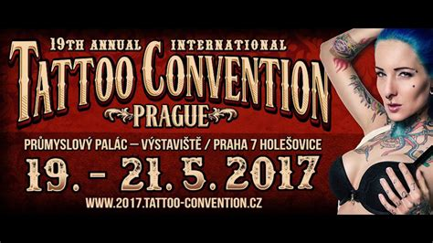 tattoo convention prague 19th tattoo convention prague 2017 trailer youtube