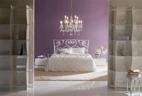 lila kronleuchter traumhafte schmiedeeisen schlafzimmer m 246 bel