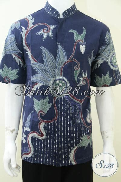 Atasan Jawa Shanghai model kerah baju batik pria images