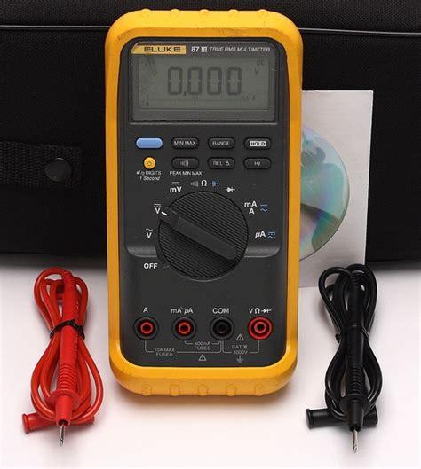 Multitester Fluke 87 fluke 87 iii true rms digital multimeter dmm