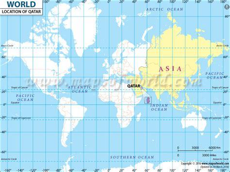 qatar map in world where is qatar qatar location in world map